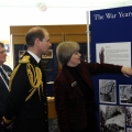 His Royal Highness The Earl of Wessex visits the museum at BRNC - Dec 2009