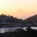 Sunrise over Kingswear.