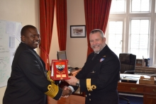 Chief of Kenyan Defence Forces visits BRNC