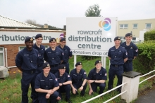 Cadets reach out into the community