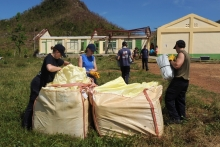 BRNC Cadets bring aid to the Philippines